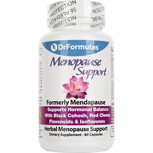 DrFormulas Menopause Supplement for Hot Flashes, Night Sweats Relief, Support and Weight Management With Dong Quai, Black Cohosh, Cream, 60 Count (Pack of 1)