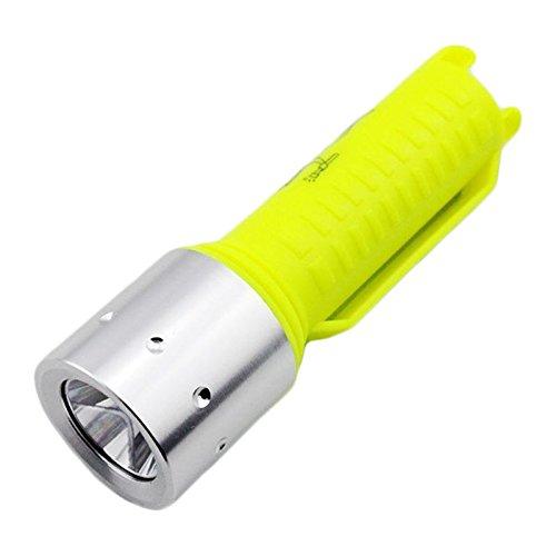 Global Yupard XPE Q5 600LM 3Modes Helligkeit Tauchen LED Taschenlampe Weiß/Gelb Licht