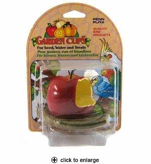 ガーデン カップス アップル 鳥の餌入れ [並行輸入品]