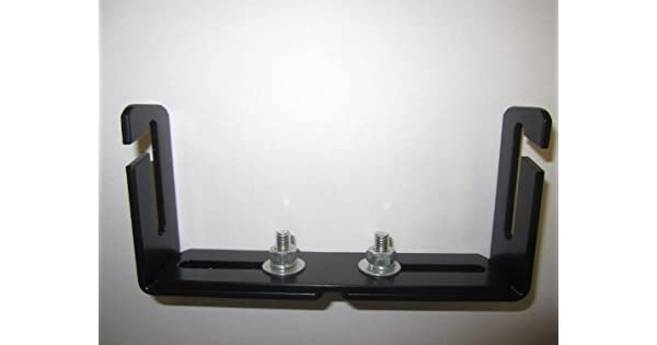 Workman C-526 Adjustable CB Radio Mounting Bracket 5 to 8-5//8 Wide With Quick Release