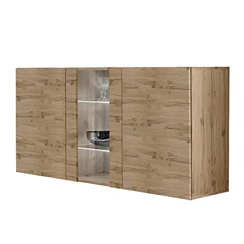 Meble Furniture Fly Type-SBI Wall Mounted Floating Sideboard