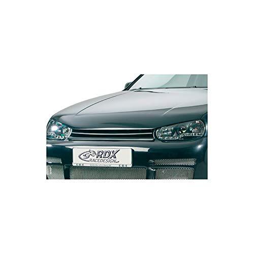 Motorhaubenverlängerung RDHV010 Golf IV 1997-2004 + integrierte Haubeneinsatz (Metall)