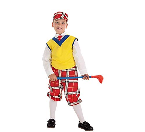 Creaciones Llopis Disfraz de Jugador Golf para niño