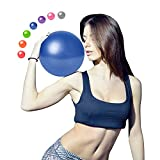 Goonidy Pilates Ball | Workout Ball | Small Exercise Ball | 9 Inch Mini Barre Ball - Fit Core, Yoga, Work Out, Ab, Fitness and Physical Therapy, Improves Balance for Women (Home & Gym & Office)