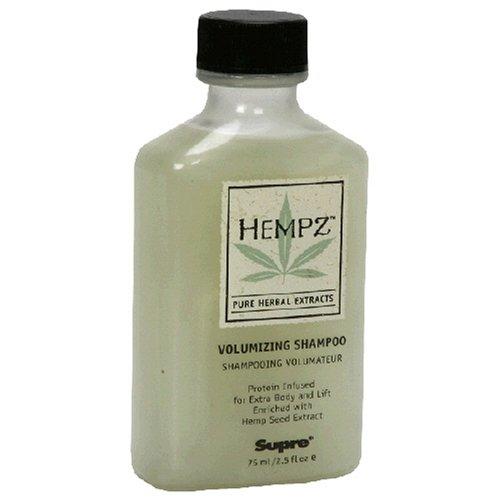 Hempz Pure Herbal Extracts Volumizing Shampoo, 2.5 fl oz (75 ml) (Pack of 3)
