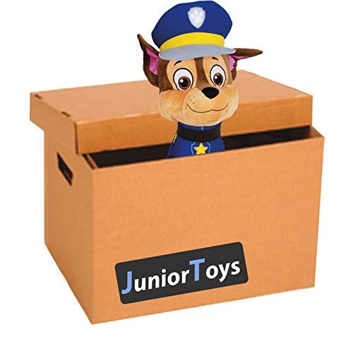JT Paw Patrol Mystery Paket mit 10 Original Lizenzartikeln inklusive Plüschfigur