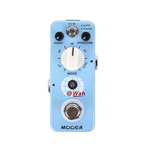 Mooer Digital Auto Wah Pedal Para Guitarra