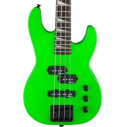 Jackson JS Series Concert Bass Minion JS1X Bass Guitar (Neon Green)