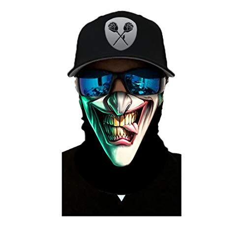 Black Roses Multifunktionstuch Herren & Damen - Wind Face Shield [Joka]
