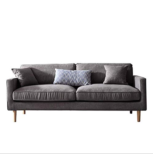 Fardeer Jonas Moderne stoffen sofa, dubbele slaapbank met bedlade en slaapfunctie, bedbank, permanente slaapbank, slaapbank, bank van de fabrikant