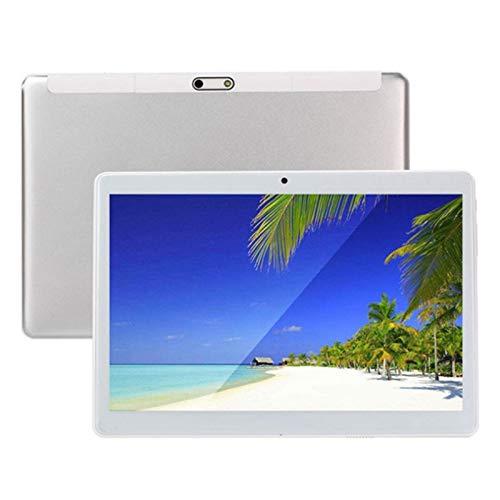 Huante Tablet PC de 10,1 Pulgadas Android 8.0 1280X800 IPS Pantalla HD 4G Llamada TelefóNica 2GB + 32GB ROM WiFi GPS Tableta Enchufe de la UE