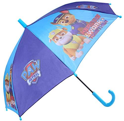 Paw Patrol donkerblauwe paraplu