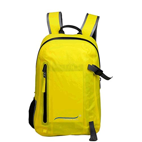 HYY-YY Bolsa de natación impermeable para ocio y viajes, mochila de protección de buceo, bolsa impermeable totalmente hermética para correr, correr, caminar, senderismo, capacidad de 20 l