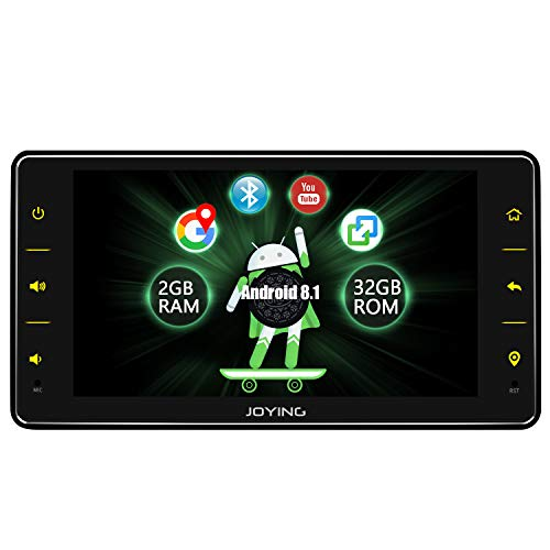 Joying Car Stereo 6.2 inch Single Din Android 8.1 2GB+32GB with DSP/Easyconnect/Fast Boot/SPDIF