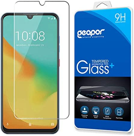 Geapor for ZTE Blade V10 Vita Tempered Glass Screen Protector Scratch Resistant Bubble Free product image