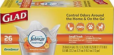 Glad OdorShield Small Trash Bags