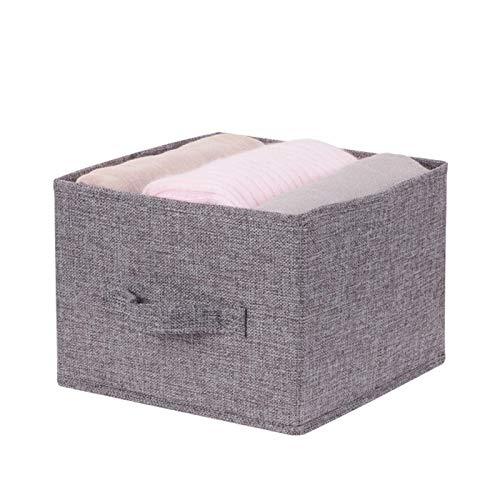 Kisbeibi Caja de almacenamiento, contenedores de almacenamiento a prueba de agua, organizadores de contenedores de almacenamiento con asa para juguetes, libros, dormitorio, hogar (cajón)