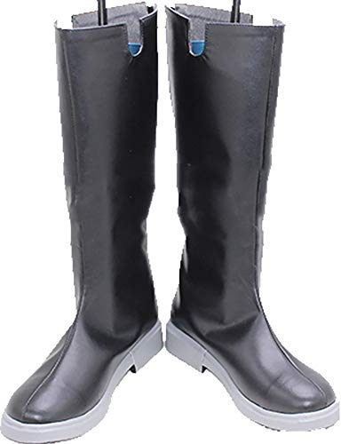 MINGCHUAN Whirl Cosplay Boots Shoes for Kingdom Hearts Xehanort