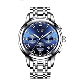 MEGALITH Mens Chronograph Watches Stainless...