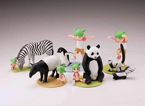 And Weiß capsule with Kaiyodo Fraulein Q Yotsuba Animal Figures Collection 2 of schwarz all five species  (japan import)