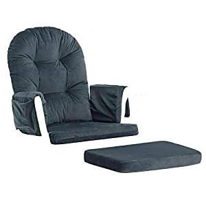 Glider Rocking Chair & Ottoman Baby Nursery Replacement Cushions Velvet