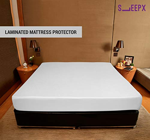 SleepX Water Proof Soft Terry Cotton Mattress Protector - 72