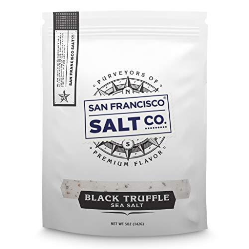 Italian Black Truffle Salt 5 oz. Resealable Pouch - San Francisco Salt Company