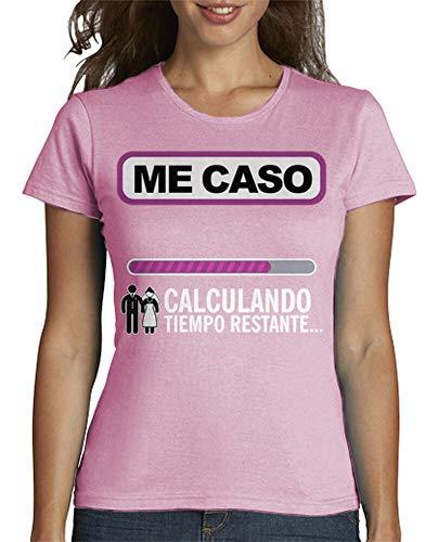latostadora - Camiseta Despedida de Soltera para Mujer Rosa XXL