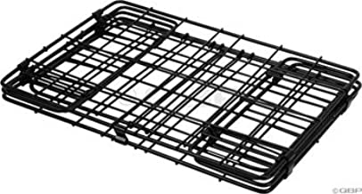 Wald 582 Folding Bicycle Rear Rack Grocery Baskets, Set of 2