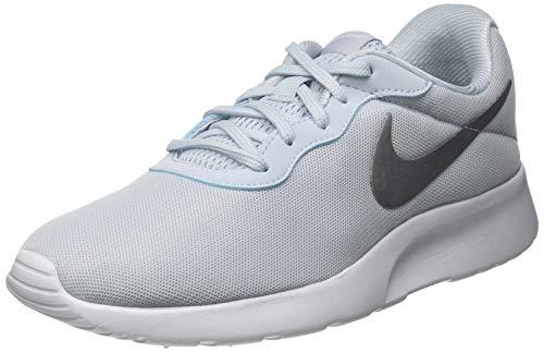 Nike Wmns Tanjun, Zapatillas Deportivas Mujer, Aura Metallic Silver White, 36 EU