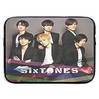 Sixtones1 ラップトップバッグライナーバッグ保護カバーは、Apple、Lenovo、およびその他の13インチ15インチコンピューターに適しています