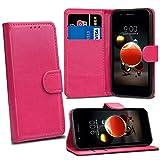 LG K8 2018 LG K9 Cases - Pink Premium Wallet Leather Flip