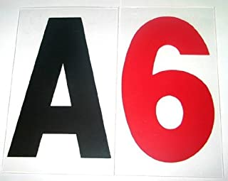6 on 7 rigid marquee letters