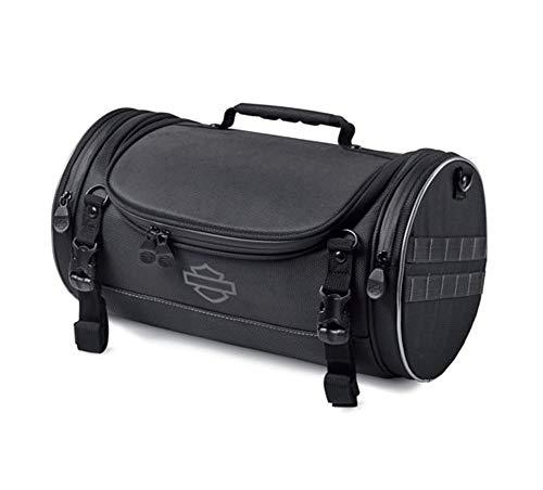 HARLEY-DAVIDSON Motorrad Gepäckrolle 43 x 23cm (16L) Onyx Premium Day Bag Tasche