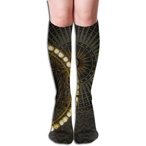 Bag hat Globe Deckenleuchte Unisex Long Cotton Compression Socks mit lustigen Mustern für Ski, Softball und Hockey Athletic 19,7 Zoll