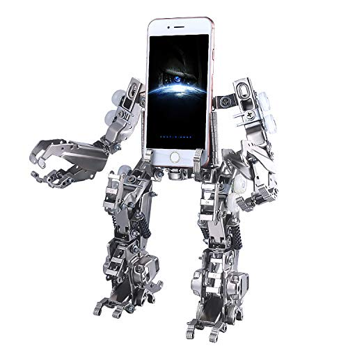 AISILUN 3D Metal Puzzle Model Kits Creative Cell Phone Stand Forklift Warrior Model Kits Toys to Build for Adults DIY Robot Figures for Christmas Birthday
