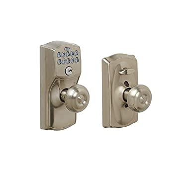 door knob with keypad