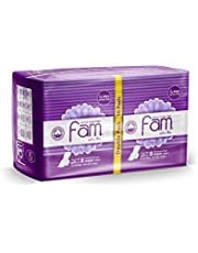 Fam Sanitary Napkins, 16 Pieces