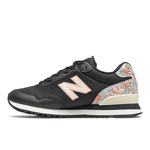 New Balance 515 V3, Zapatillas Mujer, Black Paradise Pink, 36 EU