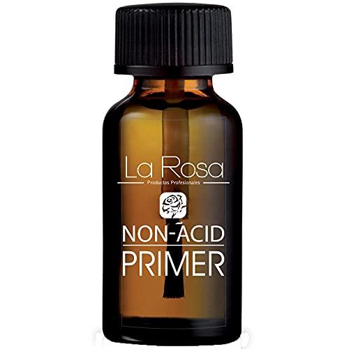 La Rosa NON-ACID PRIMER – Säuerfreier Primer für Nagelpatte - Nail Prep Bond Primer bei der Gel- und UV- Nagellack Technik, mit der delicate Duft – 13ml (Non Acid)