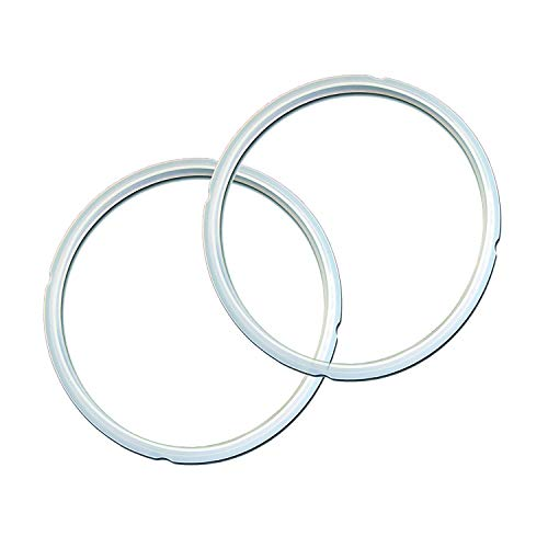 Instant Pot Ring-3-Clear-2 Genuine Sealing Ring 2 Pack Clear, Mini 3 quart