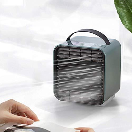 LQH Enfriador de Aire Acondicionado Personal, Mini Ventilador del Aire Acondicionado, Tres Colores, Conveniente for el hogar, Dormitorio, Oficina, Dormitorio, Coche, Tienda de campaña