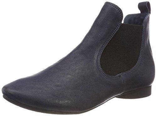 Think! Damen GUAD_383293 Chelsea Boots, Blau (84 Navy/Kombi), 42 EU
