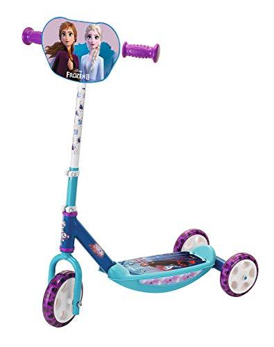 Smoby 7600750181 Frozen 2 Die Eiskönigin 2 Roller, 3 Räder, blau