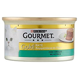 Gourmet Patà ¨ with Rabbit, Complete food for Gati Adults – 85 g