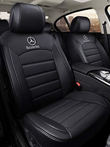 Car Seat Covers Full Set for Mercedes-Benz A B C E-Class Seat Covers...