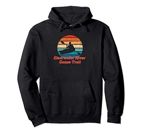 Clearwater River Canoe Trail Canotaje Idaho Regalo De Kayak Sudadera con Capucha