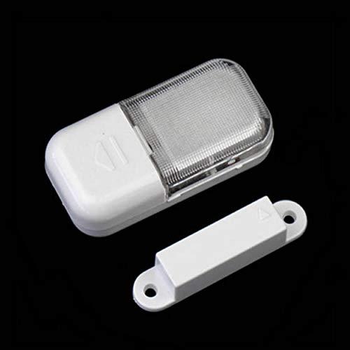 Lorenlli Inalámbrico Automático Funcional LED Sensor Magnético Lámpara de Luz de Armario Súper Brillante para Armario Armarios Gabinete