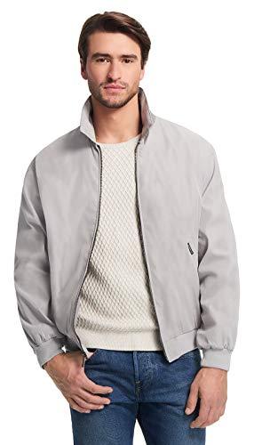 Weatherproof Original Mens Golf Jacket (Mens Windbreaker) Classic Mens Light Jacket (Small, Fog)