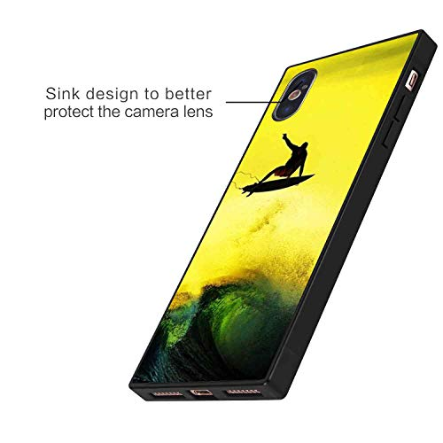 Funda para iPhone Xs Max (6,5 pulgadas) Surfing Sea